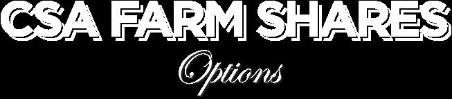 CSA options